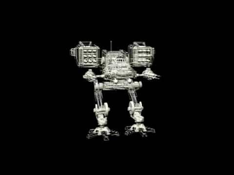 Robert Egnacheski - Mech 3D Wireframe / Mesh Profile Animation