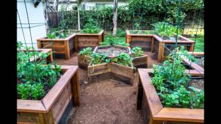 getlinkyoutube.com-[Garden Ideas] raised vegetable garden bed