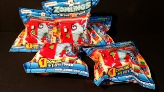 Zomlings Serie 5 - !! Unboxing !! #2 CromoCole