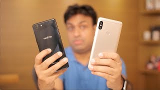 Realme 1 vs Redmi Note 5 Pro - 10 Practical Point Comparison Video