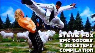 getlinkyoutube.com-鉄拳 Tekken - Steve Fox Epic Dodges & Sidesteps Compilation