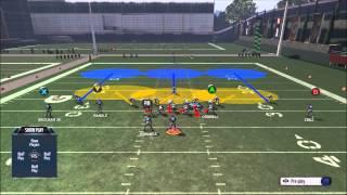 Madden 16 Defense DT A GAP Fast BLITZ - Free Play Setup