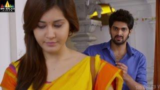 getlinkyoutube.com-Oohalu Gusagusalade Romance, Drama, Dialogues | Naga Shaurya, Rashi Khanna | Sri Balaji Video