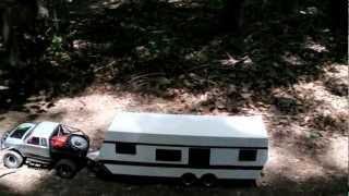 RC Camper Build, Trail Run.wmv