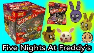Full Box of 24 Five Nights At Freddy's MyMojis Surprise Blind Bags | FNAF Game Head Ball