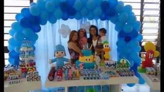 getlinkyoutube.com-Festa Pocoyo - 1 Aninho Filipe