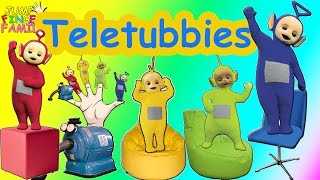 getlinkyoutube.com-Finger Family Teletubbies | Family Nursery Rhyme | Telebabies Finger Family Songs