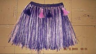 getlinkyoutube.com-como hacer una falda hawaiana