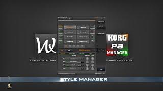 getlinkyoutube.com-KORG PA Manager - STYLE Manager - [Part 3]