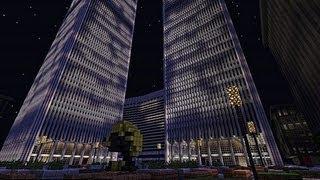 getlinkyoutube.com-World Trade Center Minecraft 1:1 Never Forget