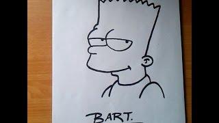 getlinkyoutube.com-Como dibujar a Bart Simpson paso a paso y fácil/ How to draw Bart Simpson step by step and easy.