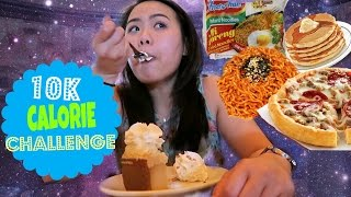 10K CALORIE CHALLENGE | GIRL VS. FOOD | EPIC MUKBANG SHOW