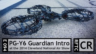 getlinkyoutube.com-RFTC: Dronewerx Introduces the PG-Y6 Guardian Multirotor at 2014 Cleveland National Air Show