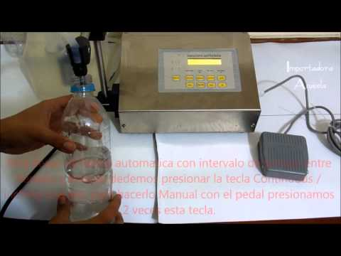 Maquina llenadora de liquidos