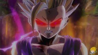getlinkyoutube.com-Dragon Ball Xenoverse (PS4): DBZanto/SSJ2 Teen Gohan Vs Cell Jr(Cell Saga) (Part 21)【60FPS 1080P】