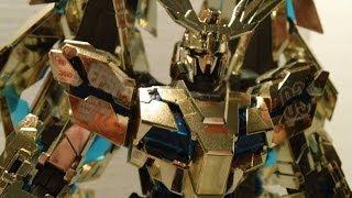 Master Grade RX-0 Unicorn Gundam 03 Phenex Review