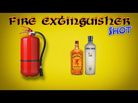 Fire Extinguisher Shot