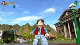 getlinkyoutube.com-LEGO Dimensions - Marty McFly Back To The Future Free Roam Gameplay