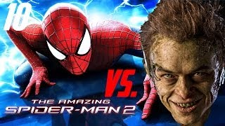 getlinkyoutube.com-The Amazing Spider-Man 2 - iOS/Android - Walkthrough/Let`s Play - #10 First Fight with Green Goblin