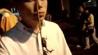 getlinkyoutube.com-Espetinho de escorpião - frito! - (parte 2/2)