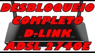 getlinkyoutube.com-Desbloqueio completo DSL-2740E D-Link para Oi velox e modulação GRÁTIS