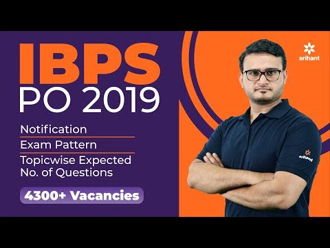 IBPS | CRP PO/MT | Recruitment Exam 2019