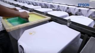 getlinkyoutube.com-Epson SureColor SC-F6070 digital dye sublimation printer