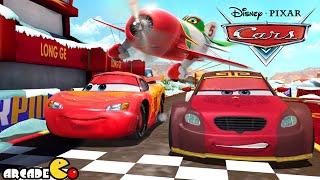 getlinkyoutube.com-Disney Pixar Cars Fast as Lightning McQueen - The Monkey King Long Ge Defeat Lightning McQueen