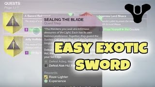 getlinkyoutube.com-Destiny - How to Glitch the Exotic Sword Bounty