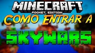 getlinkyoutube.com-Minecraft PE 0.14.0 | COMO ENTRAR A SKYWARS EN MINECRAFT PE 0.14.0