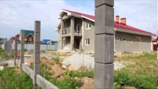 getlinkyoutube.com-забор, бетонные столбы и цокольные панели