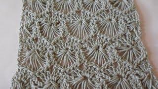 getlinkyoutube.com-Crochet Tejido Circulos Reversibles