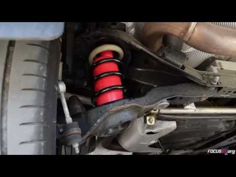 How to: Install Air Lift air bags into a Focus ST's rear suspension
