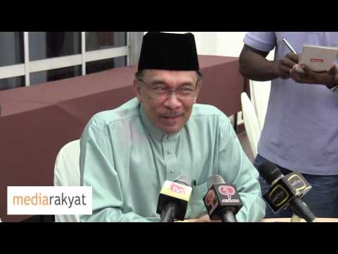 Anwar Ibrahim: We Are In 2014, Hafarizam's View Is Clearly Irrelevant