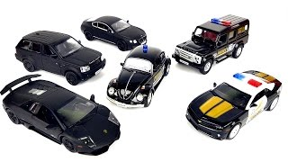 getlinkyoutube.com-Cars for Kids: VIDEOS FOR CHILDREN with toy cars police. Машинки для детей!! Полицейские Машинки!!