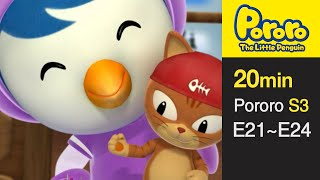 getlinkyoutube.com-[Pororo S3] Season 3 Full Episodes E21-E24 (6/13)