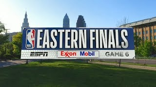 2018 NBA Playoffs ECF Celtics vs Cavaliers Game 6 ESPN Intro
