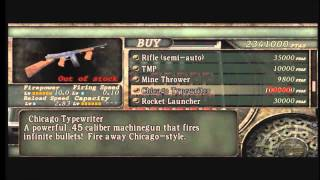 getlinkyoutube.com-Resident Evil 4 (Xbox 360): Unlockable special weapons.