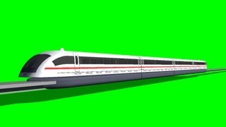 getlinkyoutube.com-maglev train - free green screen
