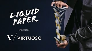 Cardistry - Virtuoso : Liquid Paper feat. the SS16 Virtuoso Deck