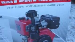 Дизельный ДНЕПР МТ 9. Часть 1. Распаковка нового двигателя WEIMA