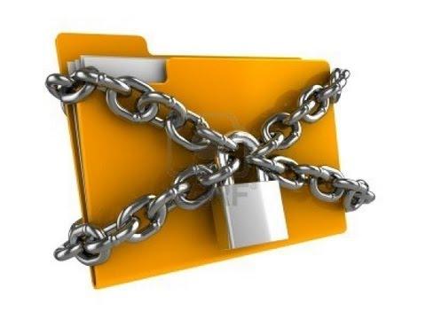 درس : قفل ملف او فولدر برقم سري بدون برامج