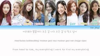 gugudan (구구단) – Wonderland Lyrics (Han Rom Eng Color Coded)
