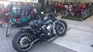 getlinkyoutube.com-Harley Davidson FXSB Softail Breakout (Aschwin from Holland)