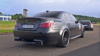 BMW M5 5.8L F1 DINAN STROKER 630HP BLACK BEAST!