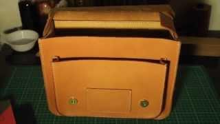 getlinkyoutube.com-ทำกระเป๋าหนัง : HandMade Leather Satchel by Mercury Leather