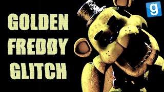 getlinkyoutube.com-GOLDEN FREDDY GLITCHED! | FNAF 2 GMod Horror Map w/ Wade
