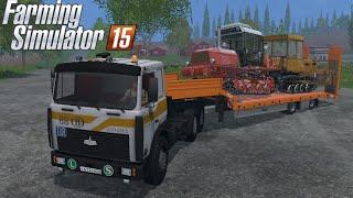 getlinkyoutube.com-Farming Simulator 2015 mod truck MAZ 5516 tractor