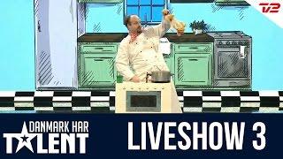 Tryllekunstneren Henning Nielsen -  Danmark har talent - Liveshow 3