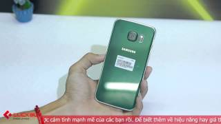 getlinkyoutube.com-Mở hộp Galaxy S6 Edge Xanh lục bảo Green Emerald - Đẹp rạng ngời,